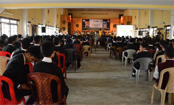 About 600 participants witnessed the WED 2015 programme at Gangtok