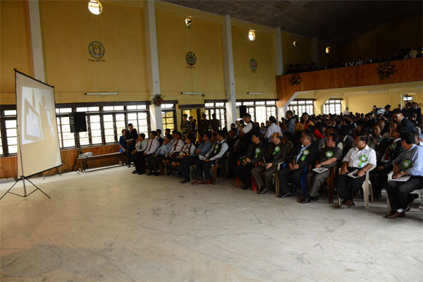 Display of ENVIS Documentary on Green School Programme Sikkim
