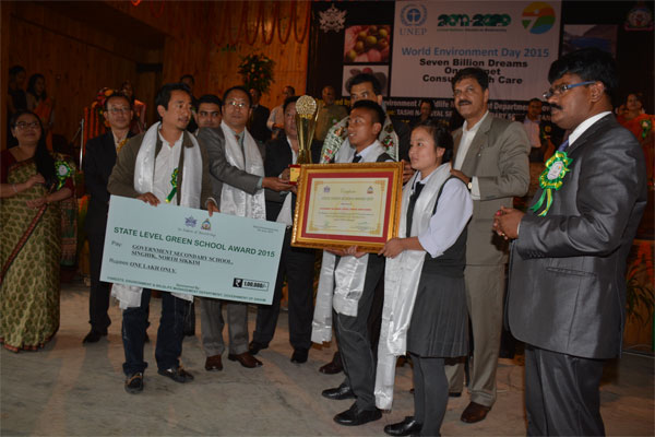 State Green School Awardee (SSS/SS) - Singhik SS, North Sikkim