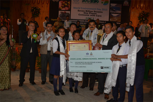 State Green School Awardee (SSS/SS) - Yangang SSS, South Sikkim