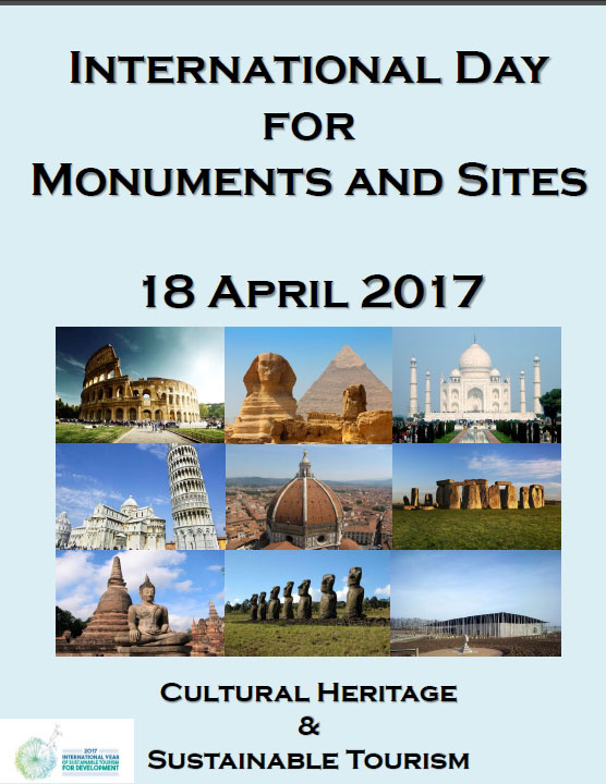 World Heritage Day - 18 April  IMAGES, GIF, ANIMATED GIF, WALLPAPER, STICKER FOR WHATSAPP & FACEBOOK