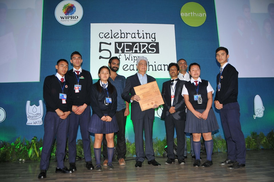 Bongten SS wins Earthian Award 2015