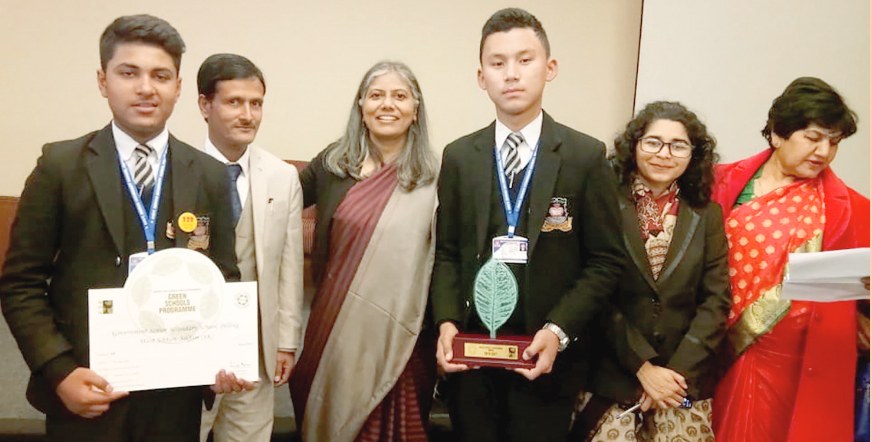GSP Award to Pelling School