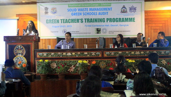 Green Teacher's Training 2015
